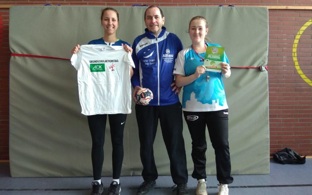 Bewegungsfreude pur: Grundschulaktionstag Handball