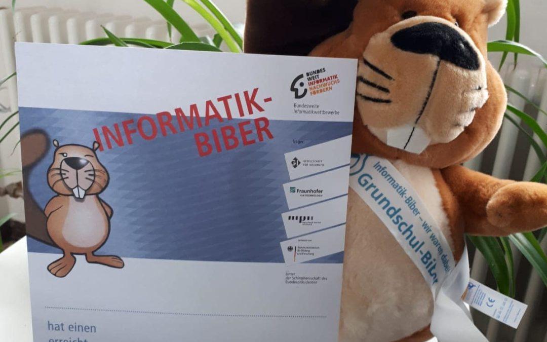 Informatikwettbewerb mit dem Informatikbiber